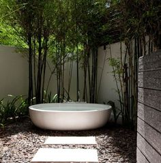 SERIOUSLY!???! A bathtub entirely outside?! You're kidding. Sala Resort in Samui, Thailand.