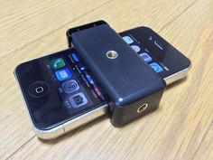 attach 2Way mount for smartphone 2ウェイマウント 三脚マウントが届く  Ooe-office,atelier 2015/06/01