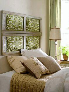 Café com Chá Decoração Criativa   21 motivos pra você mudar a cabeceira da sua cama.