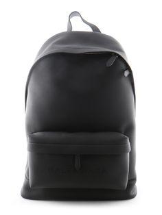 Black Backpack. Clean. Cool.