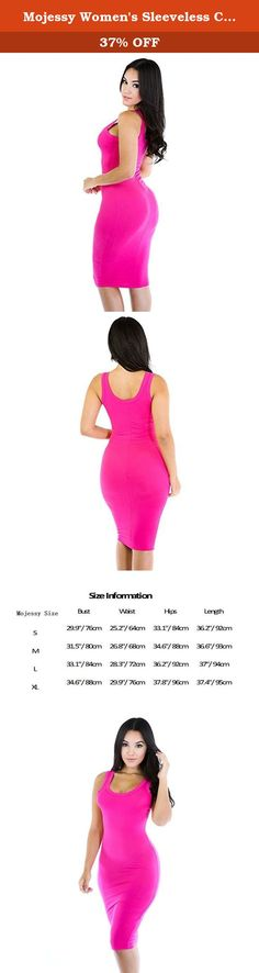 Mojessy Women's Sleeveless Casual Bodycon Bandage Tank Midi Party Dress Medium Rose. Mojessy's dresses are veey fashionable and comfortable. It fits in many occasions: party/club/wedding/cocktail/beach/daily life/night out.etc.love yourself, Love Mojessy, Love Mojessy's dresses. long dress or short dress, there must be one style you like! Mojessy is dedicate to forge women's clothing and other accessories which Sign on behalf of fashion. We provide elaborate products and service, so…