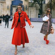 Street Style From Paris Fashion Week vogue.com #modelling #modellingwork #modeljob #fashion #acting #thetopmodel #model #modeljob #fashion #ttmodel #fashion #fashionshoot #modelling #becomeamodel #beautiful #colourful #cute #bestoftheday #style #pretty #hair
