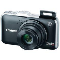 Canon PowerShot SX230HS 12.1 MP Digital Camera with HS SYSTEM and DIGIC 4 Image Processor  14x optical zoom (Black): http://www.amazon.com/Canon-PowerShot-SX230HS-Digital-Processor/dp/B004J3YCGM/?tag=wwwkulwantnag-20