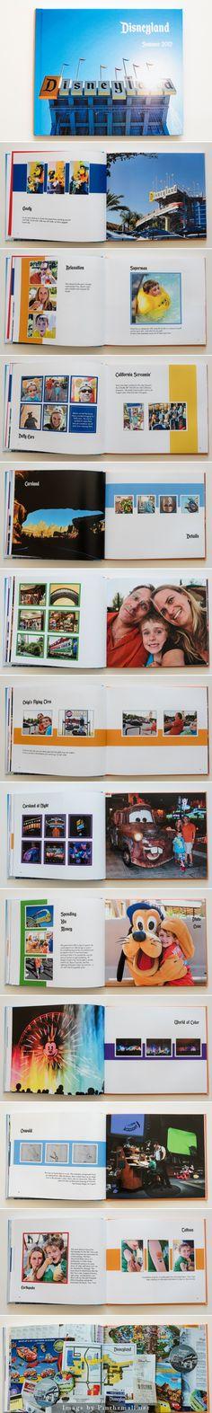 Disneyland Photo Book.