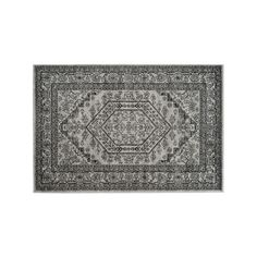 Safavieh Adirondack Cyan Framed Floral Rug, Multicolor, Durable