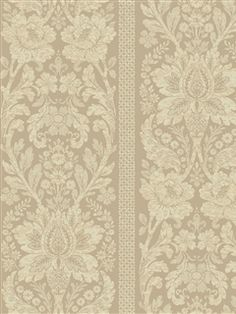 I pinned this Floral Damask Stripe Wallpaper in Sea Foam Green from the French Dressing event at Joss & Main! Damask Stripe Wallpaper, Cream Wallpaper, Luxury Wallpaper, Of Wallpaper, Pattern Wallpaper, French Wallpaper, French Dressing, Background Vintage, Vintage Backgrounds
