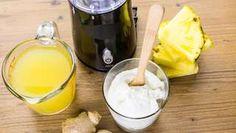 5x účinnejšia ako sirup: Dráždivého kašľu vás zbaví ananásová šťava Fondue, Glass Of Milk, Pudding, Cheese, Breakfast, Ethnic Recipes, Desserts, Morning Coffee, Custard Pudding
