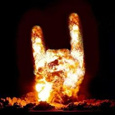 BURNING ROCK HORNS