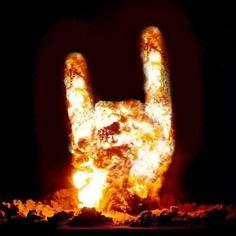 BURNING ROCK HORNS