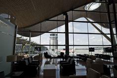 Stunning views from the Amnios Lounge at Spain Madrid - Barajas Satellite Terminal