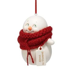 Department 56 Snow Pinions About to Unravel Ornament