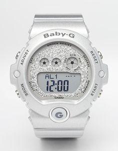 Casio - Baby G - Montre digitale - Argent
