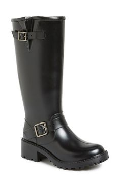Free shipping and returns on däv Tall Moto Waterproof Boot (Women) at Nordstrom.com. Stow and go with a lightweight rain boot shaped from flexible rubber to keep your feet dry. Sleek silvertone hardware accents the top while a luxuriously soft lining will keep your feet happy and warm.