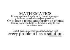 een manier om tegen wiskunde aan te kijken