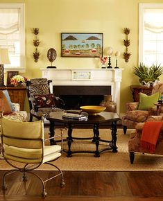 Fall colors for any room