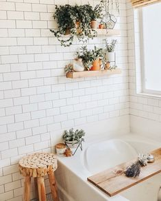 – A mix of mid-century modern, bohemian, and industrial interior style. Home and… – A mix of mid-century modern, bohemian, and industrial interior style. Home. Bathroom Inspiration, Bathroom Ideas, Bathroom Inspo, Bathroom Chair, Deco Studio, Bohemian Bathroom, Sweet Home, Minimal Bathroom, White Bathroom