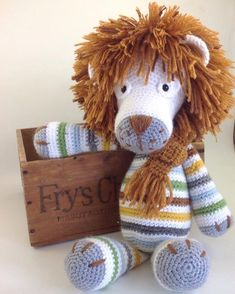 passion_et_couture:: I love how this lion turned out! The pattern is from My…