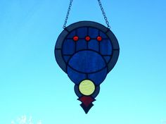Stained Glass Dreamcatcher by Conijash on Etsy, $59.50