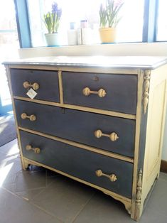 Old Ochre and Old Violet Chalk Paint