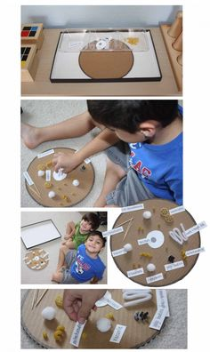 Montessori-Inspired Parts of an Animal Cell Tray from Montessori MOMents. Originally designed for little ones but could be adapted up for our middle school study of cells!