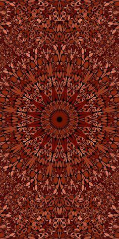 Aztec Phone Wallpaper, Locked Wallpaper, Wallpaper S, Pattern Wallpaper, Mandala Pattern, Mandala Design, Mandala Art, Bohemian Art, Fractal Art