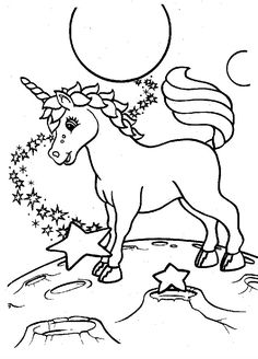 unicorns in space coloring pages for kids printable unicorns coloring pages for kids