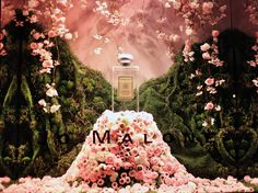 """SAKS FIFTH AVENUE,New York, JO MALONE: """"Peony&Brush Suede Cologne"""" for Saks Glam Gardens, photo by Stylecurated, pinned by Ton van der Veer"""