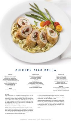 Try our Chicken Ciao Bella #recipe tonight!
