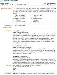 Bartender Cover Letter Example | Hire Me | Pinterest | Cover ...