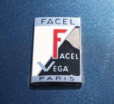 Facel Vega Badge Car Badges, Car Logos, Car Pics, Car Pictures, Detroit Motors, Car Ornaments, Old Cars, Yard, Motorcycle
