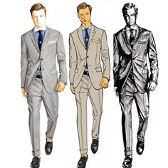 Men Vs Women, Fashion Templates, Man Vs, Male Figure, Tool Design, Fashion Sketches, Different Styles, Character Design, Illustration Art