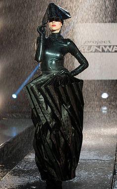"Kini ""Umbrella Dress"" for Project Runway Rain-Way"