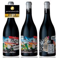 Bronze Pentaward 2012  Beverages – Wines    Brand: Longview Vineyard – 'The Piece'    Entrant: Voice    Country: AUSTRALIA    www.voicedesign.net    PACKAGING DESIGN