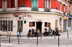 | ♕ | Back street of Menilmontant - 20e Paris | by © Maxime Bessieres
