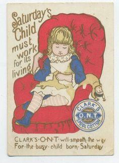 vintage sewing ad
