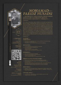 Interesting concept. Would look great as a one-page website.  20 Cool Resume & CV Designs