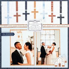 It's a Match Made in Heaven With This Wedding Scrapbook Layout – Creative Memories Blog