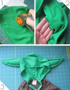 Yoda costume tutorial                                                                                                                                                                                 Más