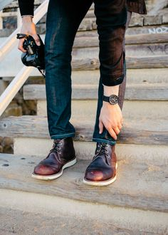 Casual, Well Dressed Red Wing Chukka Boots, Red Wing Boots, Mens Boots Fashion, Mens Fashion Blog, Men's Fashion, Aw17 Fashion, Fashion Tips, Abercrombie Men, Shoe Company