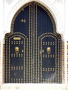 beautiful door in Morocco