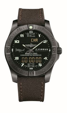 TimeZone : Industry News » N E W M o d e l - Breitling Aerospace Evo Cirrus Aircraft