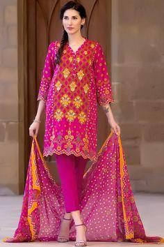 Buy online this Fuchsia 3 piece ready to wear embroidered Banjara Extand Pakistan dress by Zeen Cambridge Eid Collection 2017   #Alkaram #Zeen #Pret #Pretwear #Readytowear #Style #love #Eid #2017 #fashion #women #3piece #pakistani #Pakistan #bridal #prom #dinner #date #wear #dress #brand #designerwear #designer