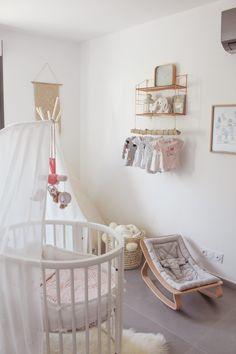 DÉCO Baby Bedroom, Girls Bedroom, Baby Bedding, Girl Nursery, Girl Room, Nursery Ideas, Home And Deco, New Room, Room Inspiration