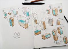 Knock On Wood / HandMade Speakers / Work In Progress