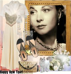 """""""Vivien Leigh - Happy New Year"""" by leticiacbm on Polyvore"""