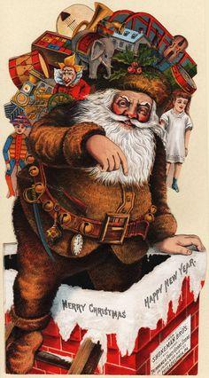 Late 19th-early 20th century: Bad Santas