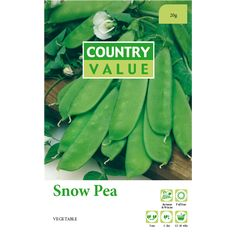 Country Value Snow Pea Vegetable Seeds | Bunnings Warehouse