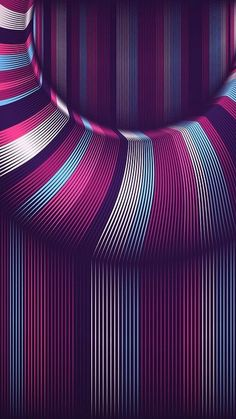 MuchaTseBle Fractals, Iphone Wallpaper, Cool Pictures, Wave, Pastel, Neon, Wallpapers, Illustrations, 3d