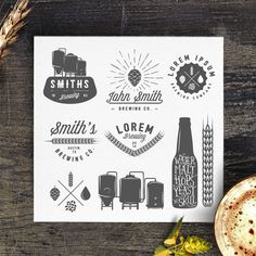 Check out Vintage brewery logos and emblems by 1baranov on Creative Market