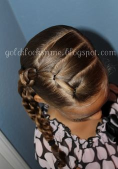 Goldilocks*n*Me Best Picture For girls hairdos kids For Your Taste You are looking for something, an Little Girl Hairdos, Lil Girl Hairstyles, Girls Hairdos, Princess Hairstyles, Pretty Hairstyles, Braided Hairstyles, Wedding Hairstyles, Kids Hairstyle, Toddler Hairstyles